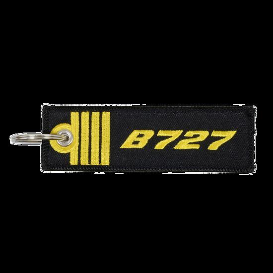 Porte-Clefs Commandant de Bord B727