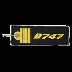 Porte-Clefs Commandant de Bord B747