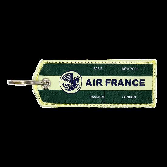 Porte-Clefs Flamme Vintage Vert foncé 3435