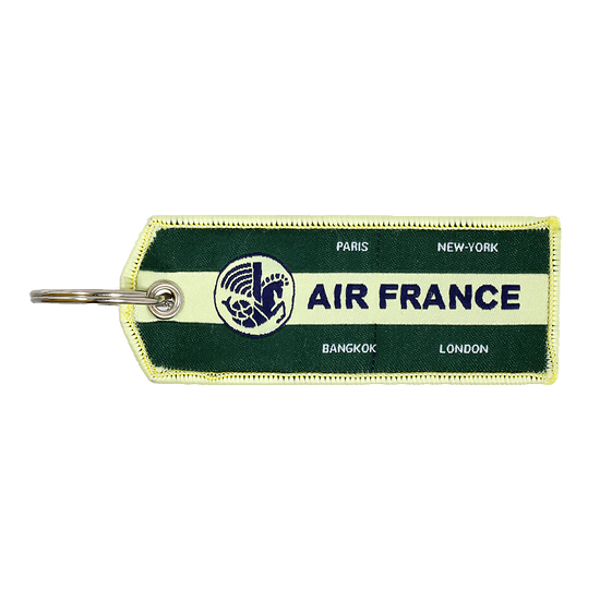 Porte-Clefs Flamme Vintage Vert 3435