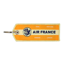 Porte-Clefs Flamme Vintage Orange 144