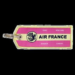 Porte-Clefs Flamme Vintage Mauve 245