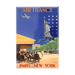 Magnet Affiche Paris New-York