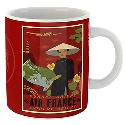 Mug Citation Orient fond rouge