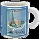 Mug Citation Paris fond bleu