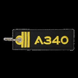 Porte-Clefs Officier Pilote de Ligne A340