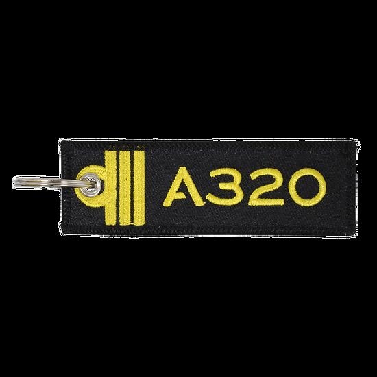 Porte-Clefs Officier Pilote de Ligne A320