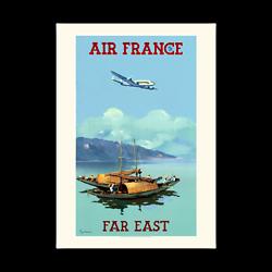 Affiche Air France Extrême . Orient A044