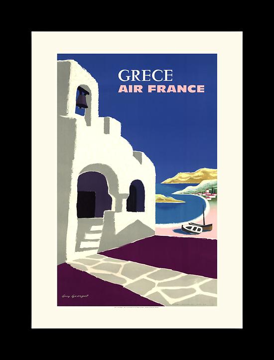 Affiche AF Grèce - A093