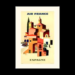 Affiche Air France Espagne A094