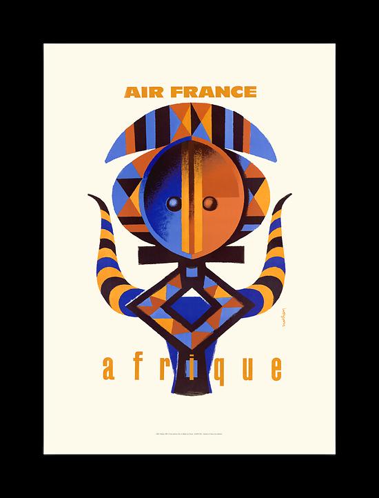 Affiche Air France Afrique A099