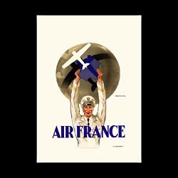 Affiche Air France Première Affiche de la compagnie A124