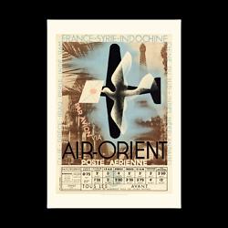 Affiche Air Orient Poste aérienne A147