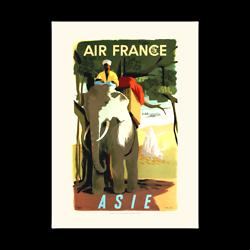 Affiche Air France Asie - A309