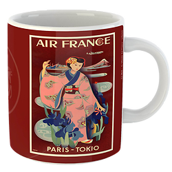 Mug Affiche Paris Tokyo