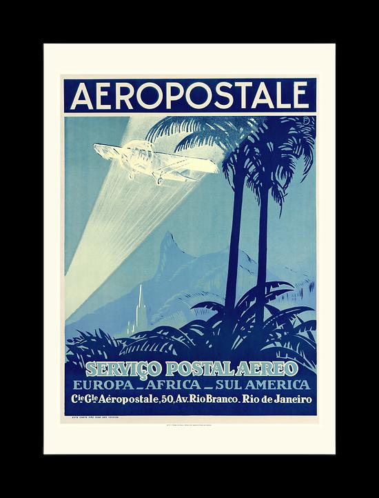 Affiche AF Europe-Africa-Sul America A1176