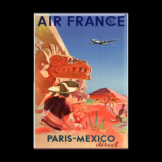 Magnet Affiche Paris Mexico
