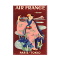 Magnet Affiche Air France Paris Tokyo