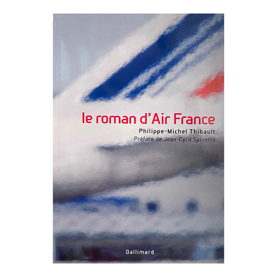 Livre le roman d'Air France