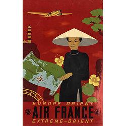 Affiche Europe Orient & Extrême Orient 63x100 A012