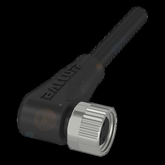Cable 90° 3 fils, Femelle M8x1