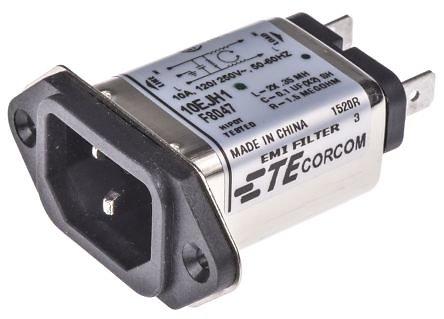 Filtre IEC mâle C14