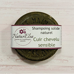 Shampoing solide Cuir chevelu sensible