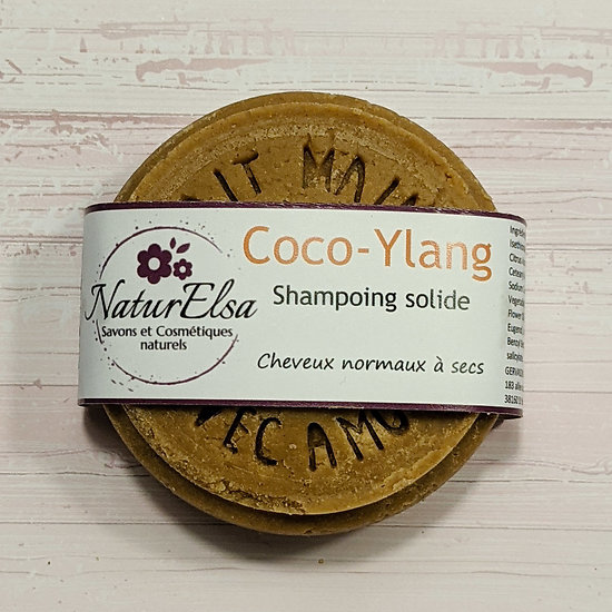 Shampoing solide Coco-Ylang