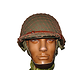 CASQUE US M2 BAND OF BROTHERS / 101st AB / ABS