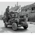 USA FANION DE JEEP MEDICAL WW2
