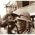 """CASQUE US T14 """"PHOTOGRAPHER"""" / LINER US WW2 / en plastique ABS"""