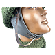 "CASQUE GB  - MOTOCYCLISTE ""HSDR"" MARK I - Coque Taille LARGE en ABS"