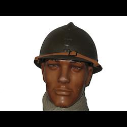 CASQUE ADRIAN - WW2 - INSIGNE MOD 37 - INFANTERIE
