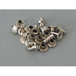 SET 10 RIVETS TUBLAIRES NICKEL / ADRIAN M26