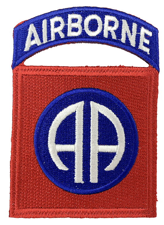 PATCH 82nd AIRBORN DIV