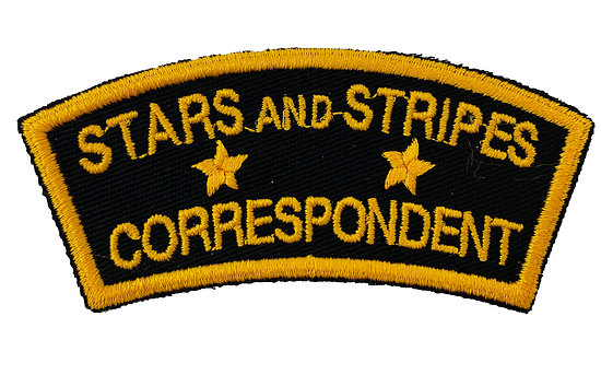 PATCH STARS AND STRIPES CORRESPONDENT