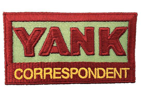 PATCH YANK CORRESPONDENT