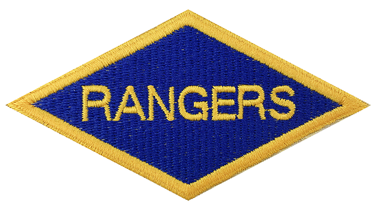 "PATCH ""RANGERS"""