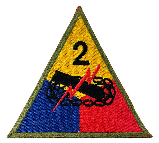 PATCH 2nd ARMORED DIV
