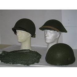 FILET PETITES MAILLES VERTES DE CASQUE GB WW2