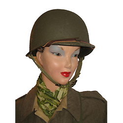 CASQUE US M1 / WAC - WOMEN'S ARMY CORPS en plastique ABS