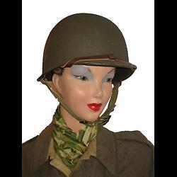 CASQUE US M1 / WAC - WOMEN'S ARMY CORPS en plastique ABS