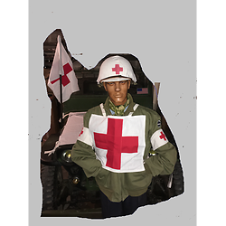 USA DOSSARD MEDICAL WW2