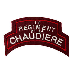PATCH LE REGIMENT DE LA CHAUDIERE