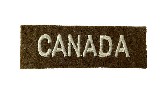PATCH TITLE CANADA