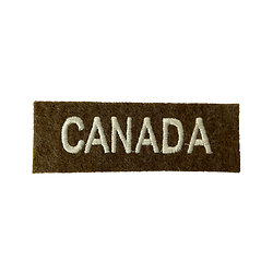 PATCH TITLE CANADA