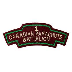 PATCH 1ST CANADIAN PARACHUTE BATTALION