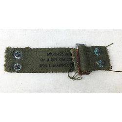 Neckband Réglable à toile verte - USM1 - Mod 51 - 1956