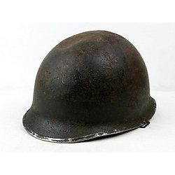 Casque Acier US M1 N° 287B - Relique Normandie 1944