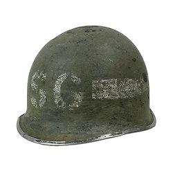Casque Acier US M1 N° 575C - SECURITY GUARD